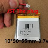 С двумя красивыми мобильной мощности 3,7 985056 105055 985055 мягкий полимерный аккумулятор