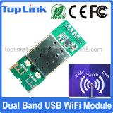 802.11 a/B/G/Nデュアルバンド2.4G/5g USBはセリウムFCCとの無線WiFiのモジュールサポート柔らかいApモードを埋め込んだ