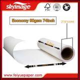 90GSM 74 '' *100m jeûnent papier de transfert sec de sublimation avec le taux à transfert élevé et l'excellente stabilité