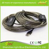 Super Snelheid USB 2.0 de Actieve Kabel Am van de Uitbreiding aan Af