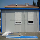 Casa prefabricada con aislamiento térmico panel de pared de sándwich