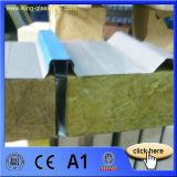 Des matériaux de toiture Moistureproof panneau sandwich de laine de roche