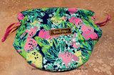 Bague de haute qualité en satin Lilly Pulitzer Colorful Jewelry Pouch Beam Pocket
