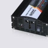 500W modificados Inversor de onda senoidal com carregador de bateria 12V 220V