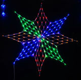 Visor de luz líquida de Natal de LED decoração de férias