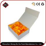 Рециркулированная коробка хранения материального подарка бумажная складывая для еды
