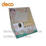 Caja de cartón papel Vitrina Contador