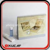 calendario de encargo de la impresión del regalo promocional cosmético de la compañía