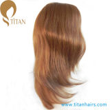 parrucca del merletto della parte anteriore dei capelli umani del Virgin di 16inch 6# per le donne