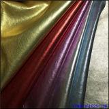 Кожа PU металла цветастая для куртки
