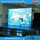 Pantalla de interior a todo color integrada de HD P7.62 3in1 SMD LED