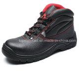 Zapatos de seguridad de acero femeninos con estilo de la punta