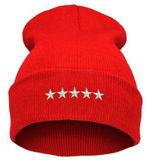 Chapéus de confeção de malhas acrílicos do bordado fresco do inverno
