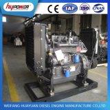 Motor diesel de Weifang 4100ZG 1800rpm con el embrague
