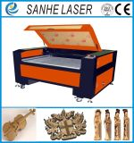 CO2 de madeira Vamp da estaca de máquina 100W da gravura do gravador do laser da mobília