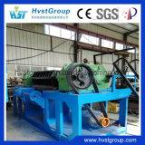 機械をリサイクルするシュレッダーの機械かタイヤをリサイクルする不用なタイヤ
