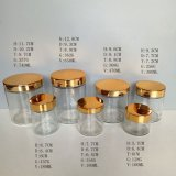 Cilinder om de Containers van de Kaars van het Glas/Houders/Kruiken 4oz 5oz 10oz 16oz 24oz