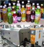 Botella de agua automático de la etiqueta de la manga y el sello del tapón máquina de etiquetado