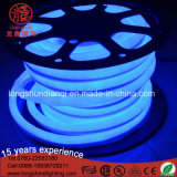 Alta qualità LED 360 indicatore luminoso al neon rosso flessibile Ce&RoHS della corda del diametro 16mm di vista di grado
