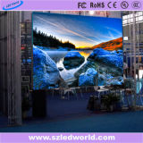 P4広告のための屋内レンタルフルカラーのダイカストで形造るLED表示パネルスクリーン(512X512キャビネット)