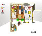 Parque de Diversões alegrar com temática de doces Kids playground coberto