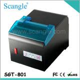 impressora térmica da posição da etiqueta de 80mm impressora Sgt801 do recibo da fábrica de 3 polegadas
