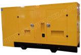 супер молчком тепловозный комплект генератора 125kVA с двигателем D1146t Doosan с утверждениями Ce/Soncap/CIQ