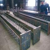 Fabricación de metal galvanizada y pintada de la estructura de acero de la sección de H para el edificio
