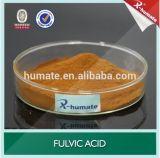 100% Ácido Fulvic solúvel em água 80%Min fertilizante orgânico em pó
