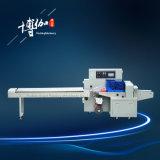 Máquina semiautomática do bloco do fluxo da máquina de empacotamento do rolo de pão