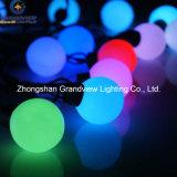 크리스마스 RGB LED 공 끈 빛