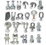 R-clip tipo tampa de forjamento de fundição de cerâmica/Isolador de porcelana