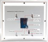 """868MHz 7 """" Cid 프로토콜 (ES-S6)를 가진 접촉 스크린 GSM+PSTN 경보망"""