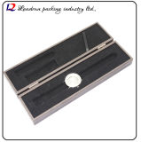 Lederner Uhr-Kasten-Verpackungs-Kasten für Uhrenarmband Uhrenarmband-Zubehör-Pocket Uhr (Sy0160)