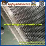 Hoja perforada de acero inoxidable, agujero de perforación, metal perforado