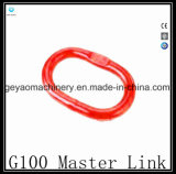 G100 최고 합금 강철 냉각되고 부드럽게 한 주된 링크 Gyr002