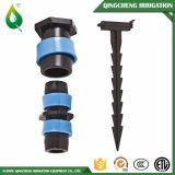 Blaues Druck-Landwirtschafts-Bewässerung Plastik-HDPE passendes Rohr