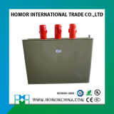 Type autocuratif triphasé condensateur de Compensation de phase de 400V