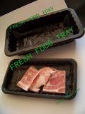 Carrefour y Walmart Supermercado Pantalla China Plástico Fabricante Carne y Alimentación Comercial Barato Negro PP Contenedor