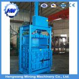 Ropa usada y comprimir la máquina empacadora de textiles, ropa usada de la máquina empacadora