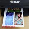 Fazendo a máquina de estaca da etiqueta do telefone móvel para a etiqueta móvel do caso