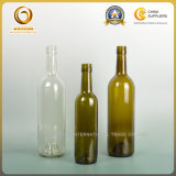 Bordeaux-Art runde Bvs Überwurfmutter-Glasalkohol-Flasche (0128)