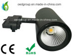 Alta lámpara de la pista de la MAZORCA LED del CRI IP44 15W 25W 30W para los departamentos del paño