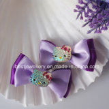 Ciao Accessori-Fabric Bow del gattino con il gattino Hair Clip Set H060 di Plastic Hello