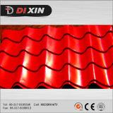 Dxはロシア1030の機械を作る着色された鋼鉄屋根瓦にエクスポートした