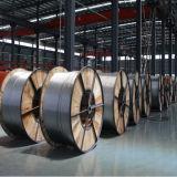 Línea de transmisión de potencia de las BS conductor descubierto de arriba del aluminio AAC