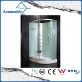 Salle de douche simple en verre transparent trempé (AS-TM14)