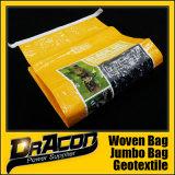 Мешок питания высокого качества животный сплетенный BOPP (W-1070)