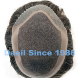 Parti dei capelli legate mano degli uomini
