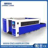 Máquina de estaca do laser do aço de carbono da tubulação do metal com tampa cheia Lm3015hm3